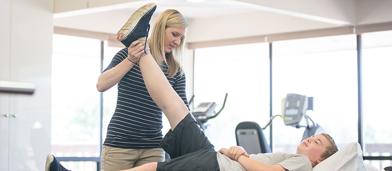 What does a Newcastle Physiotherapist do when you have a sprain in a joint?